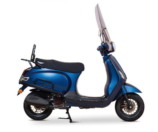 DJJD Cashmere Luxe matt blauw full option