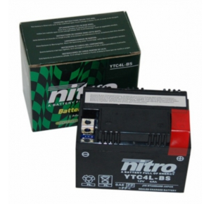 Accu Nitro 2 takt scooter 4 amp