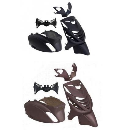 Kappenset Piaggio Zip SP mat zwart
