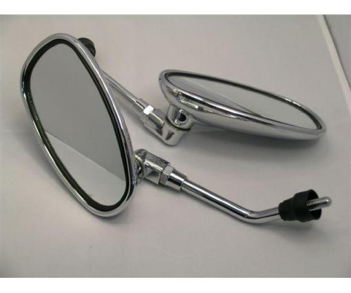 spiegelset chroom retro