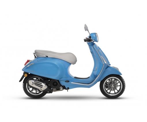 Vespa Primavera 4T Anniversery blauw